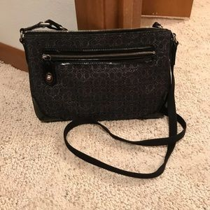 Black coach crossbody
